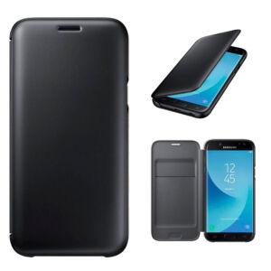 Samsung J530 Galaxy J5 (2017) gyári Wallet Cover flip tok, fekete, EF-WJ530CBEG, (SM-J530)