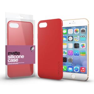 Soft Touch Silicone Case korallpiros Apple iPhone 11 készülékhez