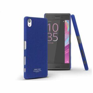 Sony Xperia X (F5121) hátlap - IMAK Sandstone Super Slim - kék
