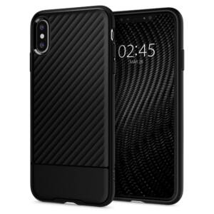 SPIGEN SGP CORE ARMOR APPLE IPHONE XS BLACK HÁTLAP TOK