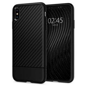SPIGEN SGP CORE ARMOR APPLE IPHONE XS MAX BLACK HÁTLAP TOK