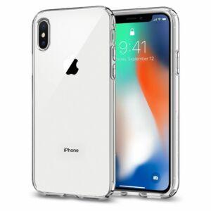 SPIGEN SGP CRYSTAL FLEX APPLE IPHONE XS CRYSTAL CLEAR HÁTLAP TOK