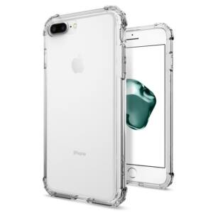 SPIGEN SGP CRYSTAL SHELL APPLE IPHONE 8 PLUS/7 PLUS CLEAR CRYSTAL HÁTLAP TOK