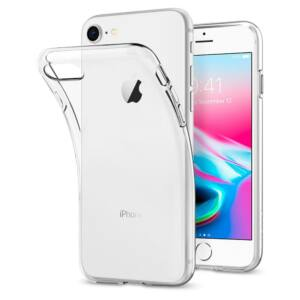 SPIGEN SGP LIQUID CRYSTAL 2 APPLE IPHONE SE 2020 / Iphone 8 / Iphone 7 CRYSTAL CLEAR HÁTLAP TOK