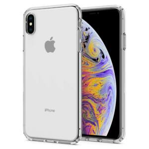 SPIGEN SGP LIQUID CRYSTAL APPLE IPHONE XS MAX CRYSTAL CLEAR HÁTLAP TOK