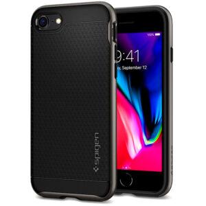 SPIGEN SGP NEO HYBRID 2 APPLE IPHONE SE 2020 / Iphone 8 / Iphone 7 GUNMETAL HÁTLAP TOK