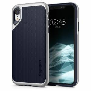 SPIGEN SGP NEO HYBRID APPLE IPHONE XR SATIN SILVER HÁTLAP TOK