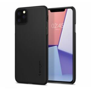 SPIGEN SGP THIN FIT APPLE IPHONE 11 PRO MAX BLACK HÁTLAP TOK