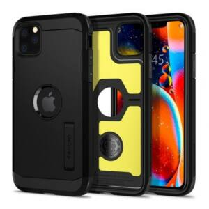 SPIGEN SGP TOUGH ARMOR APPLE IPHONE 11 PRO MAX BLACK HÁTLAP TOK