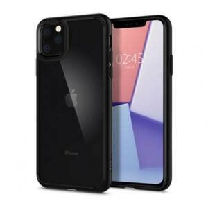 SPIGEN SGP ULTRA HYBRID APPLE IPHONE 11 PRO MAX MATTE BLACK HÁTLAP TOK