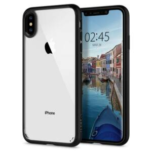SPIGEN SGP ULTRA HYBRID APPLE IPHONE XS MATTE BLACK HÁTLAP TOK