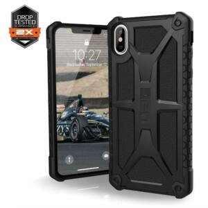 UAG MONARCH APPLE IPHONE XS MAX HÁTLAP TOK, FEKETE