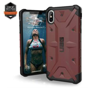 UAG PATHFINDER APPLE IPHONE XS MAX HÁTLAP TOK, CARMINE