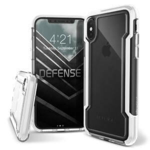X-Doria Defense Clear védőtok Apple iPhone X/XS készülékhez, Fehér