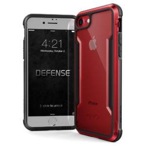 X-Doria Defense Shield védőtok Apple iPhone SE 2020 / Iphone 7 / Iphone 8 készülékhez, Piros