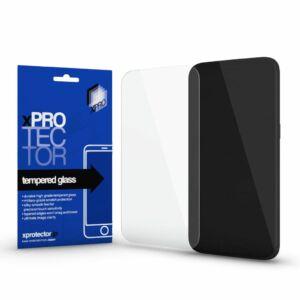 Xprotector Tempered Glass full 3D Black (FG) kijelzővédő Samsung A71 készülékhez