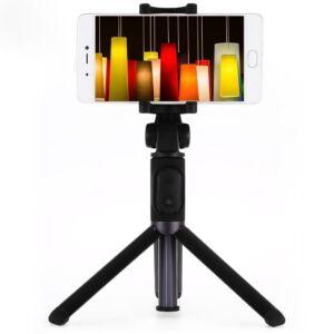 Xiaomi MI Selfie Stick Tripod Bluetooth Selfie Bot + Állvány, Fekete