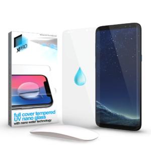 Xprotector Full Cover Tempered UV nano Glass kijelzővédő, Samsung Galaxy S8+ (G955)
