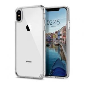 SPIGEN SGP ULTRA HYBRID APPLE IPHONE XS MAX CRYSTAL CLEAR HÁTLAP TOK