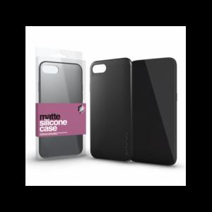 Szilikon matte tok ultra vékony fekete Apple iPhone 11 Pro készülékhez
