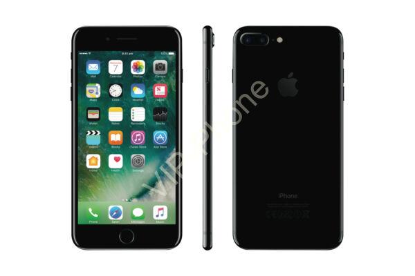 HASZNÁLT Apple iPhone 7 Plus 128Gb JetBlack kártyafüggetlen mobiltelefon