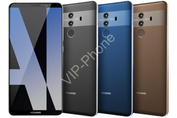 Huawei Mate 10 Pro 128GB Dual-Sim gyártói garanciás kártyafüggetlen mobiltelefon