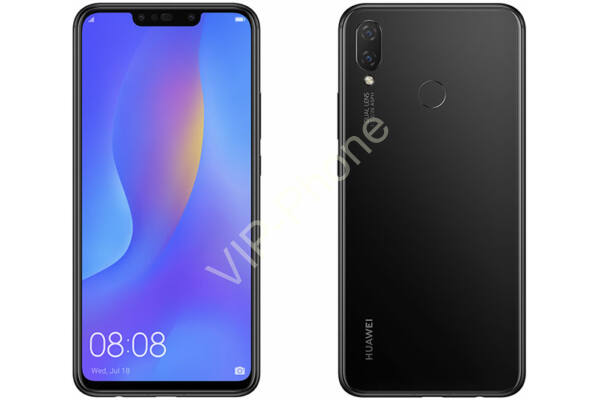 Huawei P Smart+ 64GB Dual-SIM fekete kártyafüggetlen mobiltelefon