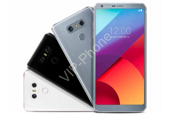 LG H870 G6 gyártói garanciás kártyafüggetlen mobiltelefon