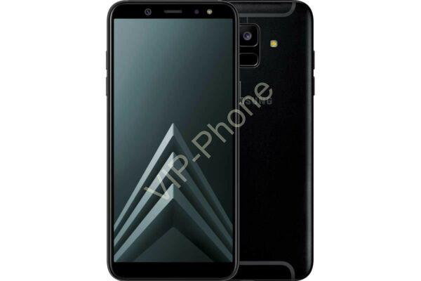 Samsung A600F Galaxy A6 (2018) Dual-Sim fekete kártyafüggetlen mobiltelefon