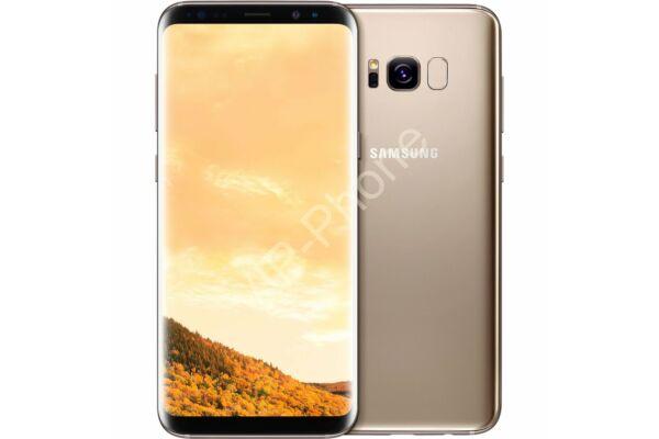 HASZNÁLT Samsung Galaxy S8 (G950FD) Dual-Sim Arany kártyafüggetlen mobiltelefon
