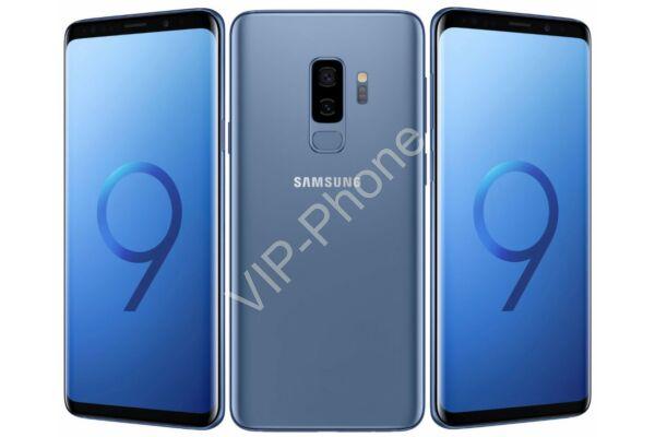 HASZNÁLT Samsung Galaxy S9+ (G965FD) Dual-Sim Kék kártyafüggetlen mobiltelefon