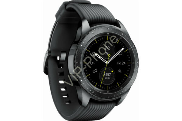 Samsung R810 Galaxy Watch 42mm fekete okosóra