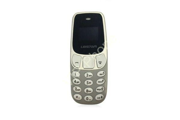 L8Star BM10 Mini Phone szürke kártyafüggetlen mobiltelefon